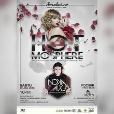 "Sabtu 30 Jan. 2016 ""HOTMOSPHERE"" w/ DJ & Producer NOKA AXL at Mr. Brown Bar & Bistro   Seratus Production www.seratusco.asia Present ""HOTMOSPHERE"" =============== With most hottest DJ & Producer performance :  NOKA AXL (Jakarta Bounce)  Residencies : DOREX - DEWI SENSHEI - EGHA  Sabtu 30 Jan. 2016 MR. BROWN BAR & BISTRO Jln. Diponegoro no. 17 Padang =============== Fresh music exp. guarantee! Starts 10 PM onwards / 18 Only Get Free limited Invitation / Undangan terbatas  Supports : Mr…"