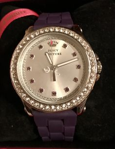 Juicy Couture Watch, Bling, Watches, Accessories, Fashion, Moda, Jewel, Wristwatches, Fashion Styles