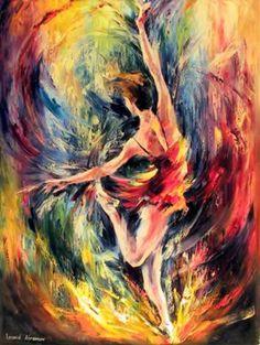 The Twirl by Leonid Afremov