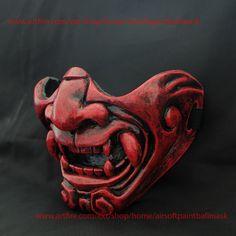 Samurai Cosplay Airsoft Mask Halloween Costume Oni Demon Evil MA228