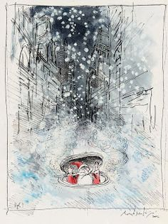 Ronald Searle Tribute: Merry Christmas from Ronald Searle!