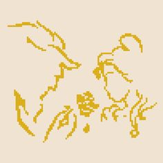 The beauty and the beast Silhouette Cross Stitch Pattern-/disney silhouette/disney cross stitch/cross-stitch pattern/disney princess/belle  This PDF counted cross stitch pattern available for instant download.  Pattern Specifications: 1.Floss: DMC Design Area: 6,64 x 6,43 (93 x 90 stitches) Area of embroidered image: ★ 14 Count, 7.14 in w X 7.14 in h (18.14 cm w X 18.14 cm h) ★ 16 Count, 6.25 in w X 6.25 in h (15.88 cm w X 15.88 cm h) ★ 18 Count, 5.56 in w X 5.56 in h (14.11 cm w X 14.11 cm…
