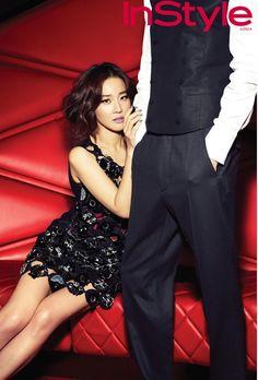 Uhm Ji Won InStyle Korea Magazine December Issue '12