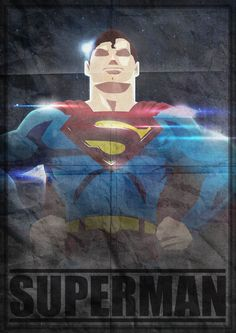 Superman (poster)   By: Herobaka, a/k/a Kevin Deneufchatel