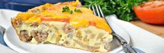 Aunt Bee's Sausage and Cheese Pie is one of those special meals that is passed down with the love, care and attention to detail that makes family recipes so special.
