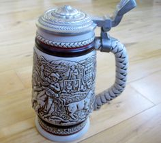 1980 Collectible Avon Salute to Ranchers Lidded by ChinaGalore