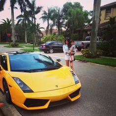 Rides in the Lamborghini