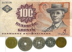 Danish Kroner Playing Currency