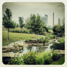 Railroad Park, Birmingham, AL....absolutely wonderful park. We miss going there.