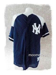 Majestic MLB New York #Yankees #Baseball #Jersey Jimmy Key 22 Mens Size M Medium