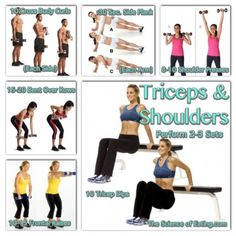 Workout Triceps & Shoulders