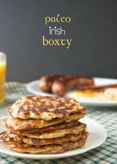 Irish Boxty +  Full Irish Breakfast | Plaid & Paleo