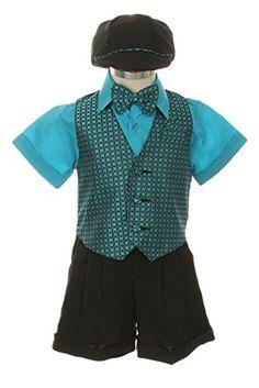 Shorts,Bowtie,Vest, Short Sleeve Shirt