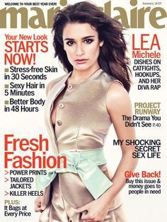 Lea Michele on Dating Cory Monteith: 'No One Knows Me Better' #Glee #CouplesNews