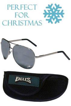 749f51d679f0 Philadelphia Eagles Aviator Sunglasses and Sports Case