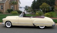 1948 Oldsmobile 98....not a car person, but must say, wouldn't mind havin' this one!!