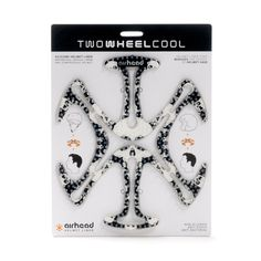 Skull 'n Bones AIRHEAD | TWOWHEELCOOL bicycle and motorcycle accessories designed for riders, by riders in Australia.