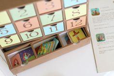 Holiday Countdown Calendar via The Macs » Blog