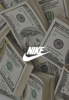 Image via We Heart It #grunge #money #nike