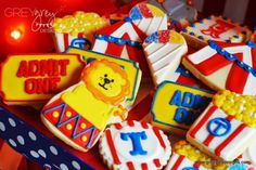 Ideas for a Circus Theme Kids Party