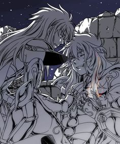 Saint Seiya: The Lost Canvas - Degel and Kardia