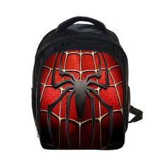 Hero Punisher / Captin America / Spiderman / Ironman Kindergarten Backpack Children School Bags Boys Book Bag Student Backpack