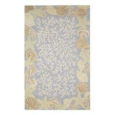 Shell rug