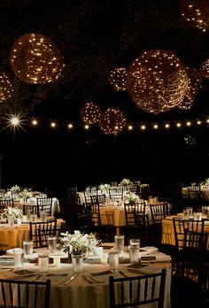 Wedding Lighting Ideas: Grapevine Balls | Brides.com