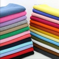 20x100cm Cotton knitted rib cuff fabric stretchy cotton fabric for DIY sewing clothing making accessories fabric