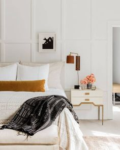 Beautiful bedroom inspiration - Lisa Tharp