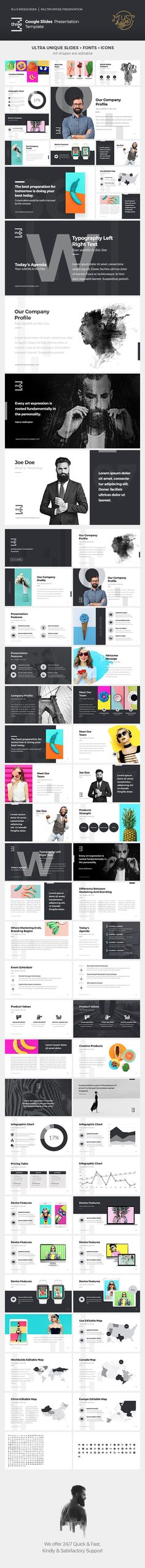 Creativa Google Slides  Presentation Templates Template And Graphics