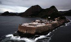 A Fortaleza de Santa Cruz Foto: Custódio Coimbra / Agência O Globo / 11-07-2012