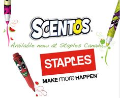 Scentos available now at Staples Canada #Scentos #Pens #Markers #Staples #StaplesCanada @weveel @HyPoint3