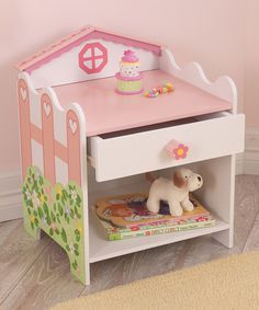 Another great find on #zulily! KidKraft Dollhouse Toddler Side Table by KidKraft #zulilyfinds