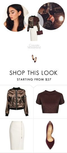 // 1256. Concrete Wonderland. by lilymcenvy on Polyvore featuring Topshop, Boohoo, MaxMara, Charlotte Olympia and DKNY