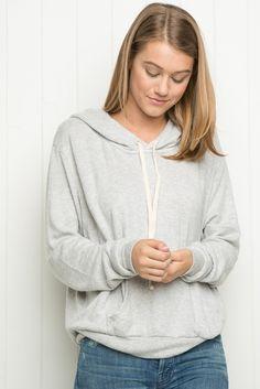 Brandy ♥ Melville   Robin Hoodie - Sweaters - Clothing