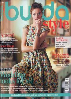 #Burda Style Germany Magazine Approximately 60 multi-sized patterns in each issue. Every monthly issue features sections for plus size patterns and children's patterns.