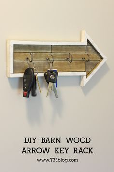 Simple and inexpensive DIY Arrow Key Rack