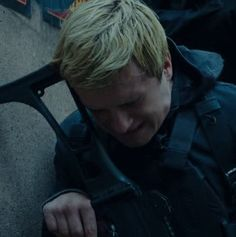Josh Hutcherson as Peeta Mellark  the Hunger games Mockingjay part 2