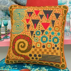 Klimt Toffee - Ehrman Tapestry