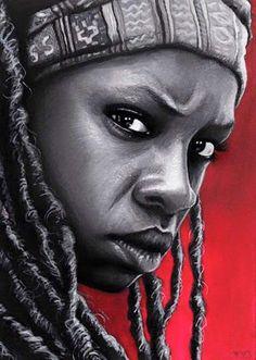 Michonne  #TheWalkingDead