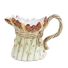 I pinned this Giardino Mini Pitcher from the Pastel Table event at Joss & Main!