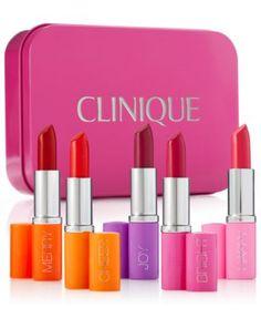 Clinique 5-Pc. Pick Your Party Lipstick Set, Created for Macy's | macys.com