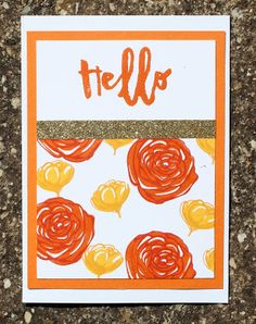 """CTMH Australiasian Blog Hop - National Stamping Month """"Hello, Life"""""""