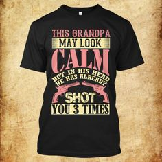 LAST OFFER !! Use this link https://teespring.com/Grandpa-Gun?pr=grandpa and get 10% discount for today only !