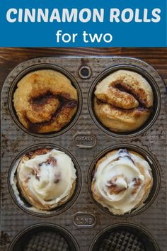 Cinnamon Rolls for Two Cinnamon Rolls for Two DessertForTwo dessertfortwo dessert for two recipes Small batch cinnamon rolls for two Such a quick nbsp hellip buns small batch No Yeast Cinnamon Rolls, Cinnamon Roll Icing, Yeast Rolls, Mug Recipes, Sweet Recipes, Baking Recipes, Bread Recipes, Recipe For 1, Single Recipe