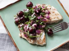 Grilled Tilapia with Cherry Salsa Ingredients 1 tablespoon extra ...