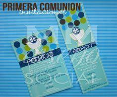 Invitaciones Primera Comunión  by MM DiseñoSocial, via Flickr