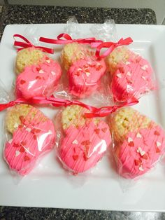 A personal favorite from my Etsy shop https://www.etsy.com/listing/266804945/12-valentines-day-heart-rice-krispy