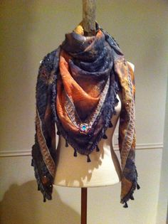 Made by Keet winter 2014-2015 collection. Handmade scarf